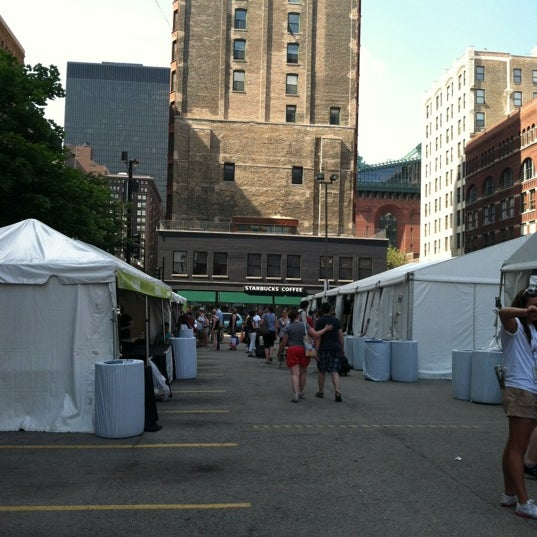 Photo taken at Printers Row Lit Fest by Bill D. on 6/10/2012