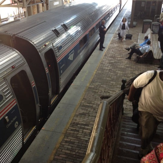 Photo taken at Amtrak: Harrisburg Transportation Center (HAR) by Richard J. on 6/8/2012