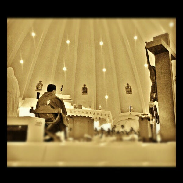 Photo taken at Sto. Niño de Paz Community Chapel by Adrian M. on 8/12/2012