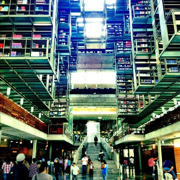 Photo taken at Biblioteca Vasconcelos by Arturo M. on 9/9/2012