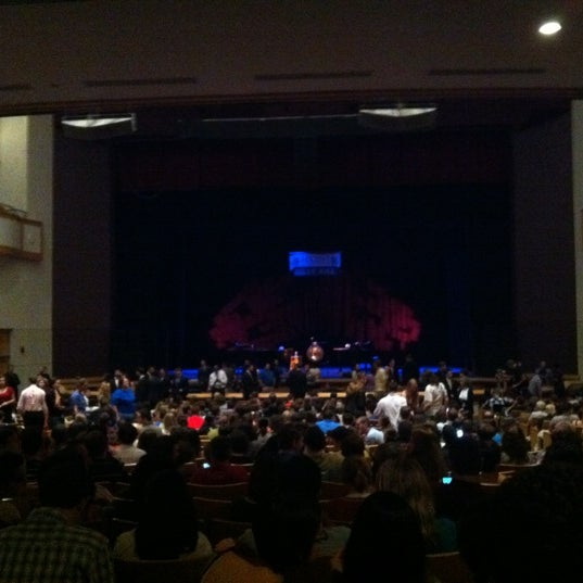 Photo taken at Curtis M. Phillips Center for the Performing Arts by J. P. on 3/2/2012