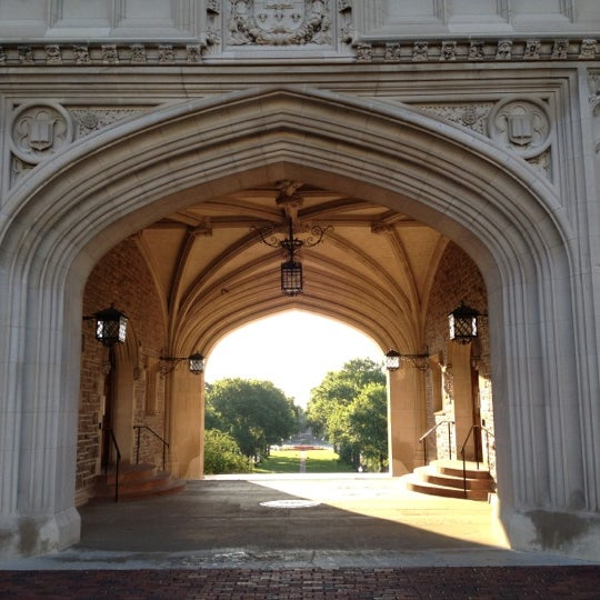 Photo taken at Washington University in St. Louis by Chris F. on 5/9/2012