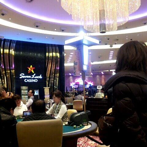 Photo taken at Seven Luck Casino by momomo on 2/7/2012