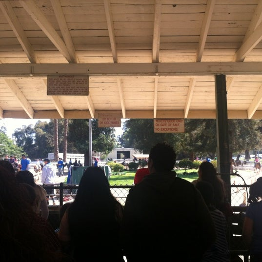 Photo taken at Griffith Park Pony Rides by Karen A. on 3/11/2012