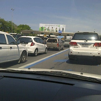 Photo taken at ด่านฯ ดาวคะนอง (Dao Khanong Toll Plaza) by KhunPin Craff .. on 4/20/2012