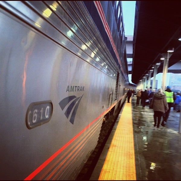 Photo taken at Denver Amtrak (DEN) by Melissa F. on 4/4/2012
