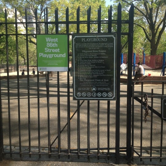 Photo taken at Central Park - Mariners' Gate Playground by Amanda ~. on 4/20/2012