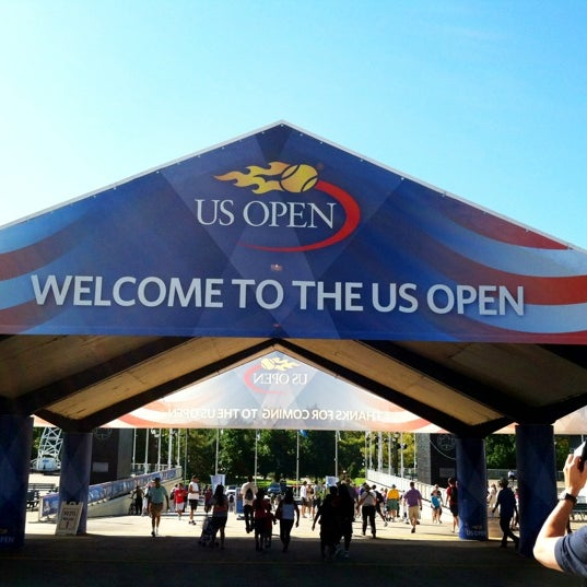 Photo taken at US Open Tennis Championships by Anute C. on 8/29/2012