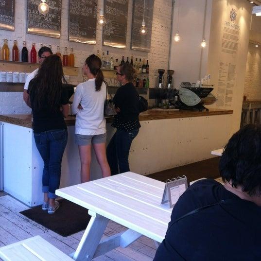 Photo taken at Frita Batidos by Sarah G. on 8/18/2012