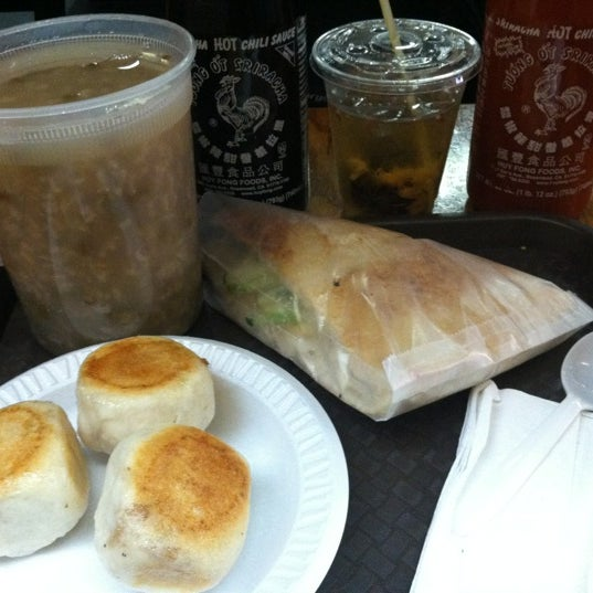 Photo taken at Vanessa's Dumpling House by Kevin P. on 7/10/2012