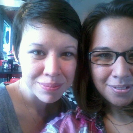 Photo taken at Donut Dinette by Danielle B. on 5/9/2012