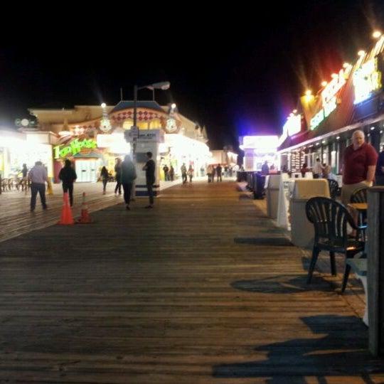 Photo taken at Point Pleasant Beach Boardwalk by Adam L. on 5/20/2012