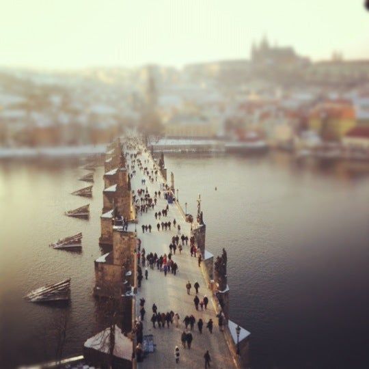 Photo taken at Karlův most | Charles Bridge by Brain A. on 2/11/2012