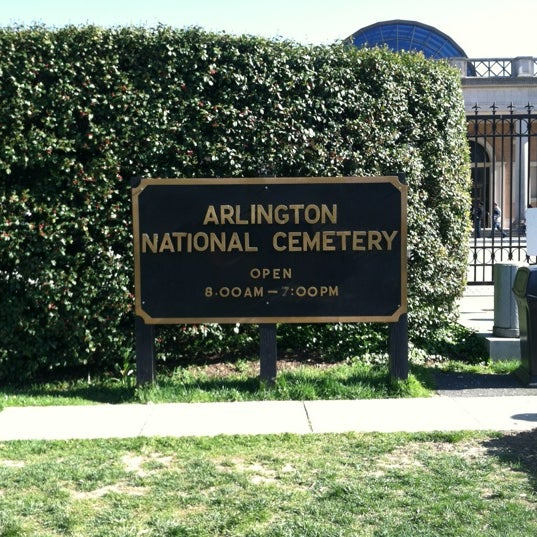 Photo taken at Arlington National Cemetery by Kristopher V. on 4/7/2012