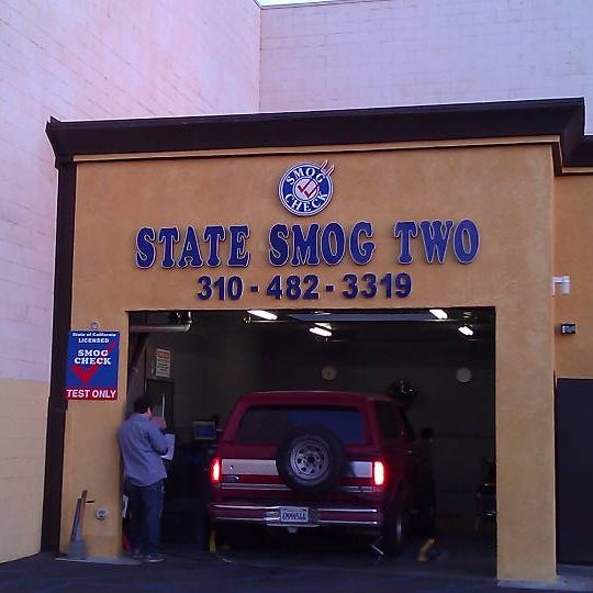They do smog checks as well!