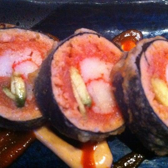 Photo taken at Blue Wasabi Sushi & Martini Bar by Charles R. on 7/19/2012