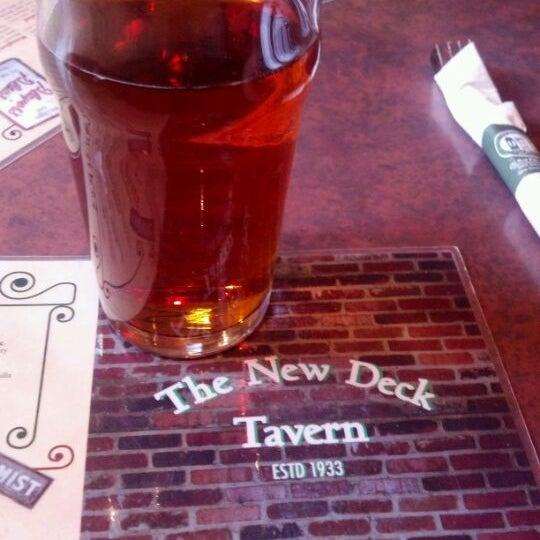 Photo taken at New Deck Tavern by Matthew E. on 5/12/2012