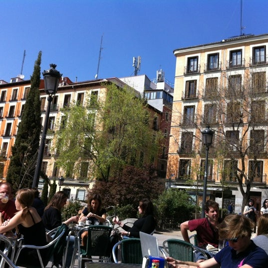 Photo taken at Plaza del Dos de Mayo by Pilar M. on 4/1/2012