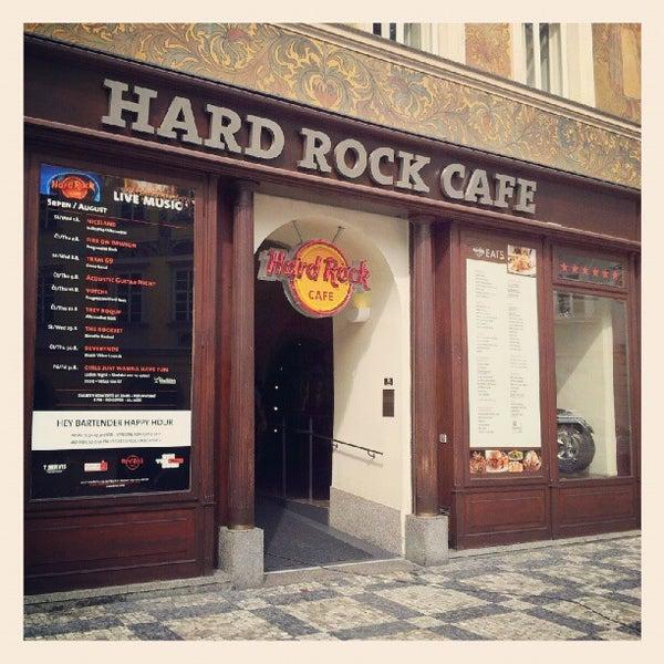 Hard Rock Cafe Prague Cocktails