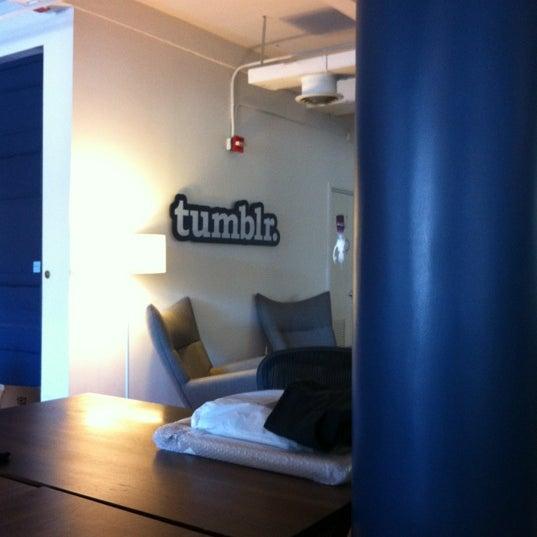 Photo taken at Tumblr HQ by Ben G. on 6/7/2012