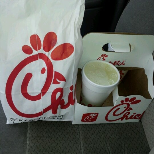 Photo taken at Chick-fil-A by Stephanie G. on 8/8/2012
