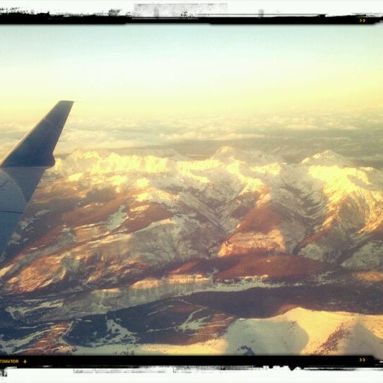 Photo taken at Aspen/Pitkin County Airport (ASE) by Sean B. on 2/17/2012
