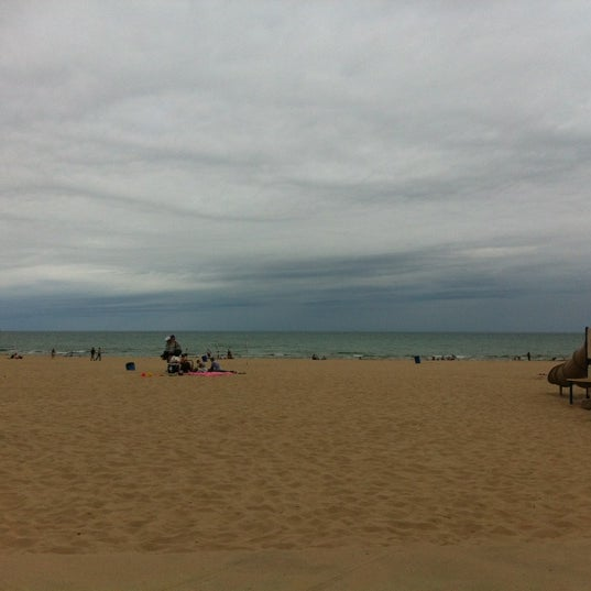 Photo taken at Silver Beach by Anne D. on 6/21/2012