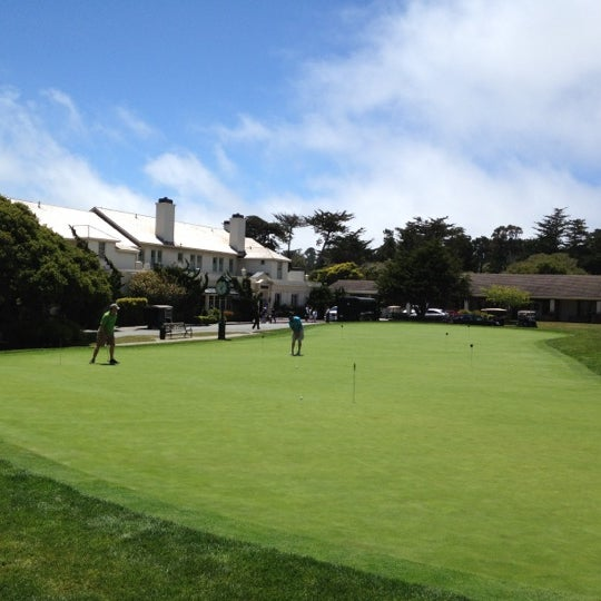 Photo taken at The Lodge at Pebble Beach by Batman on 5/22/2012