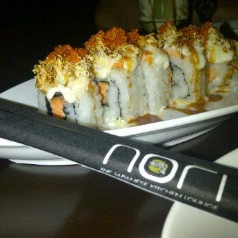 Photo taken at Nori The Japanese Kitchen Lounge by Indrini K. on 8/17/2012
