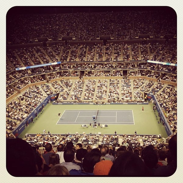 Photo taken at 2014 US Open Tennis Championships by Susan L. on 9/7/2012