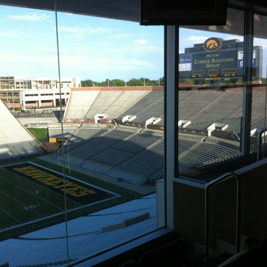 Photo taken at Kinnick Stadium by Asbed B. on 6/14/2012