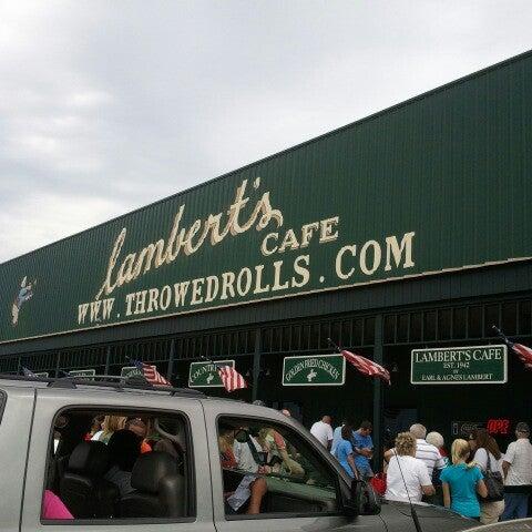 Photo taken at Lambert's Cafe by Deborah W. on 7/29/2012