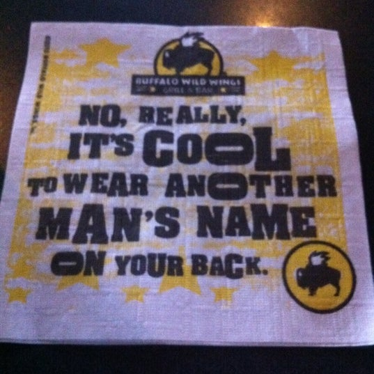 Photo taken at Buffalo Wild Wings by Tiffany B. on 4/26/2012