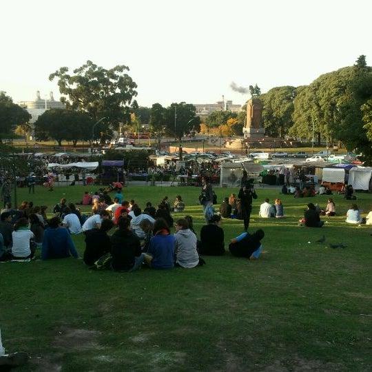 Photo taken at Plaza Francia by Pavel K. on 5/6/2012
