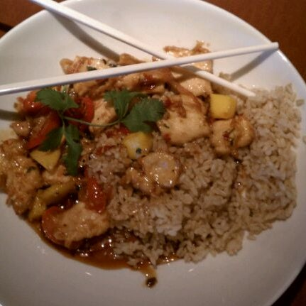 Photo taken at P.F. Chang's by Lynette V. on 4/18/2012