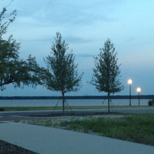 Photo taken at Palatka Riverfront by Mike H. on 5/10/2012