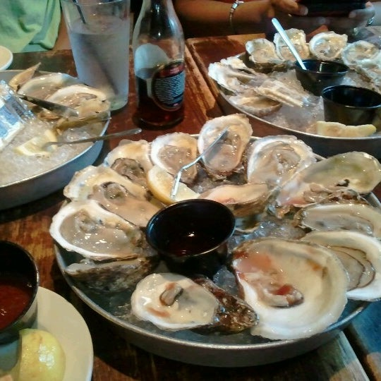 Photo taken at Mama's on the Half Shell by Jay B. on 8/22/2012