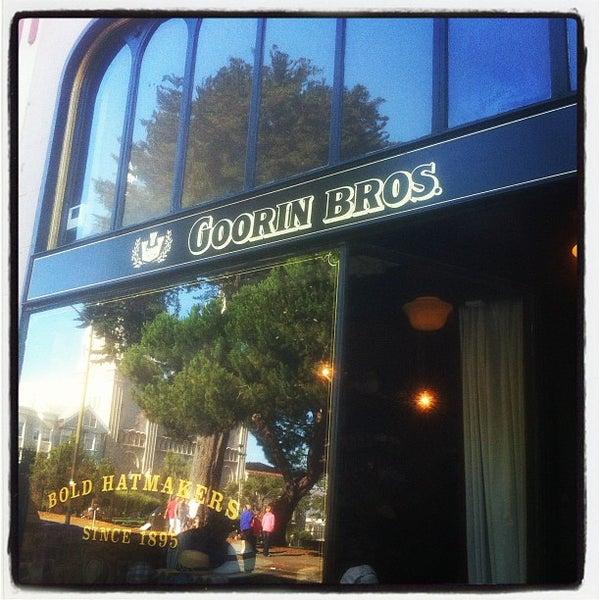 Photo taken at Goorin Bros. Hat Shop by Stephen M. on 7/4/2012