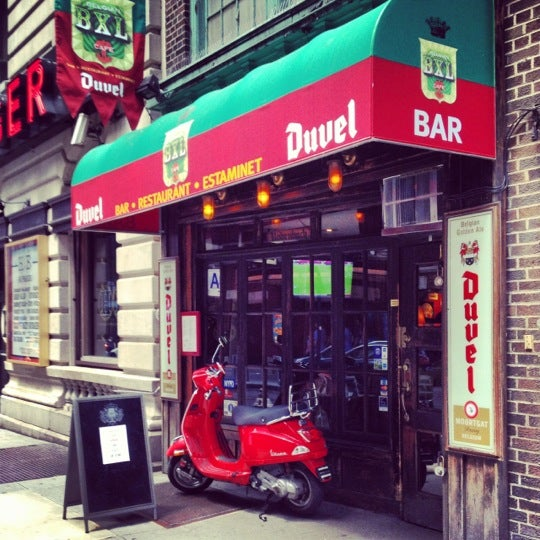 Bxl Cafe New York Menu