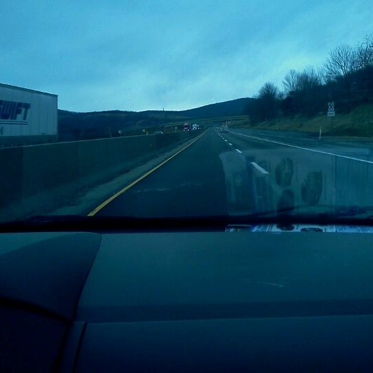 Photo taken at I-76 (PA Turnpike) by Clay H. on 2/21/2012