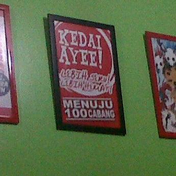 Photo taken at Kedai Ayee by Mahesto D. on 4/2/2012