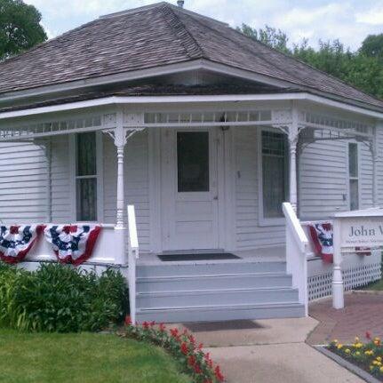 Photo taken at John Wayne Birthplace Museum by Lyndsey E. on 5/25/2012