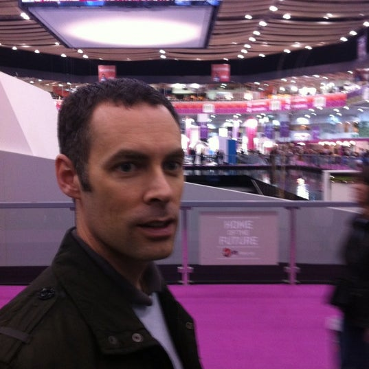 Photo taken at Earls Court Exhibition Centre by Martin G. on 3/21/2012