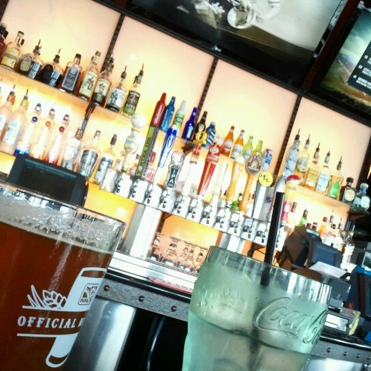 Photo taken at On Deck Sports Bar & Grill by Marty C. on 7/15/2012