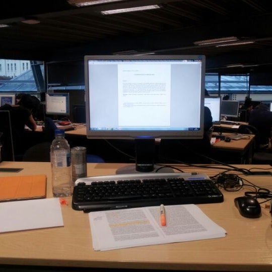 Photo taken at Djanogly Learning Resource Centre by Morgan G. on 5/25/2012