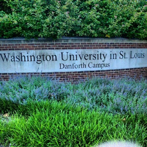 Photo taken at Washington University in St. Louis by Ryan D. on 5/14/2012