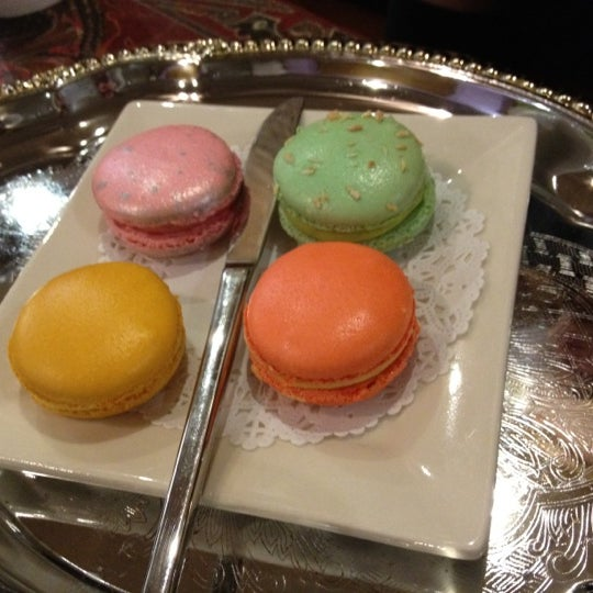 Photo taken at La Maison du Macaron by Jan S. on 6/9/2012