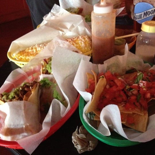 Photo taken at Nick's Crispy Tacos by Jillian D. on 9/2/2012