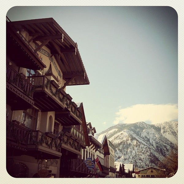 Photo taken at Town of Leavenworth by Chris P. on 2/4/2012