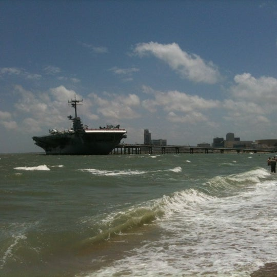 Photo taken at USS Lexington Museum On The Bay by David W. on 7/4/2012